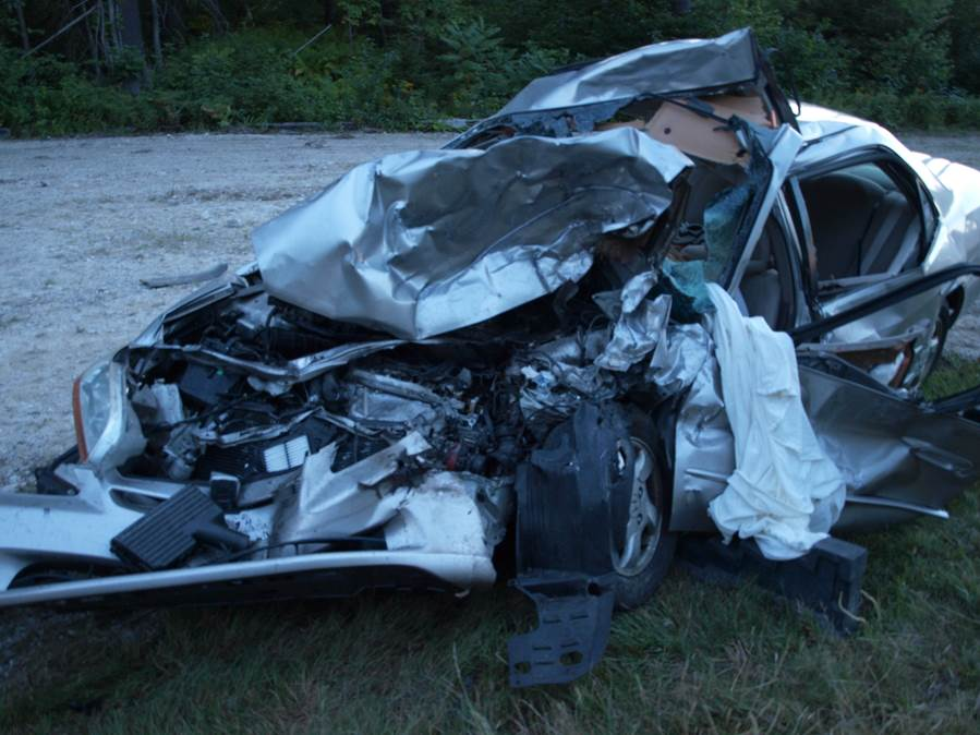 Fatal 3 Vehicle Accident In Ossipee - Music Without